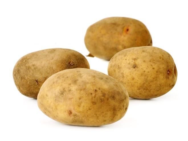 Vier Kartoffeln