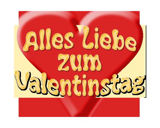 Valentinstag 2016 mit Herz